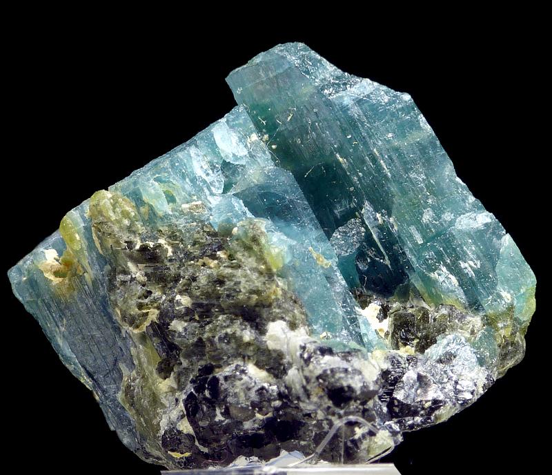 Mineral stone raw mineral specimen Grandidierite Madagascar 7.1 ct